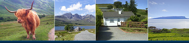 Self catering cottages on the Isle of Skye